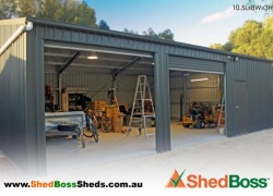 'Shed Boss Fleurieu are the best shed builders in the business!' Bob, Strathalbyn