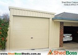 'Shed Boss Fleurieu was the best choice we have made for service and value for money!' Charlie F, Encounter Bay