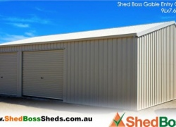 'I recommend Shed Boss Fleurieu for top notch service and products, and would definitely choose them again!' Craig L, Victor Harbor