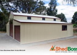 'Jim Kearns and the team at Shed Boss were easy to deal with, provided excellent service, quality work and were efficient, and always on the ball regarding progress' John and Pam B, McLaren Vale