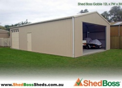 'I chose Shed Boss because of the quality of construction…' Roger, Goolwa