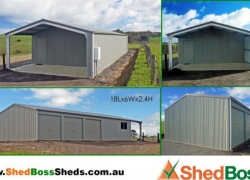 'Shed Boss made the initial design process easy with many options, the computerised design and quoting process a plus…' Simon and Lee, Waitpinga